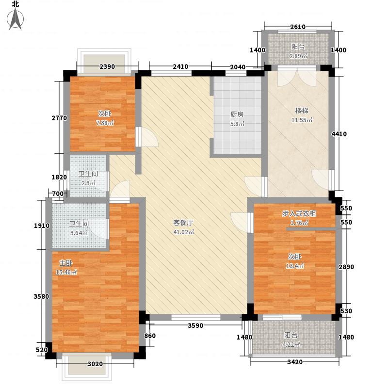 格林馨园109.00㎡格林馨园户型图户型23室2厅2卫1厨户型3室2厅2卫1厨