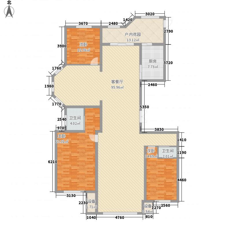 宝宇天邑澜湾23.60㎡14#1单元1号/3单元2号户型3室3厅2卫1厨