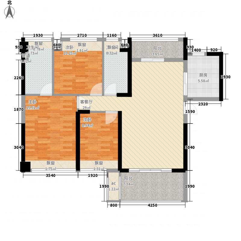 怡翠宏�户型图怡翠宏景3座-02 3室2厅2卫
