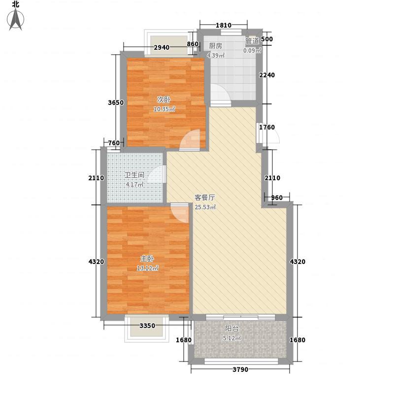 托乐嘉城市广场89.00㎡户型3室2厅1卫1厨