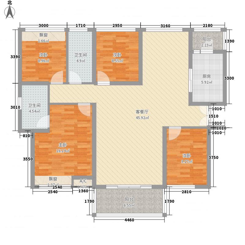 华盛・西荟城三期3号楼B座/4号楼A座A户型