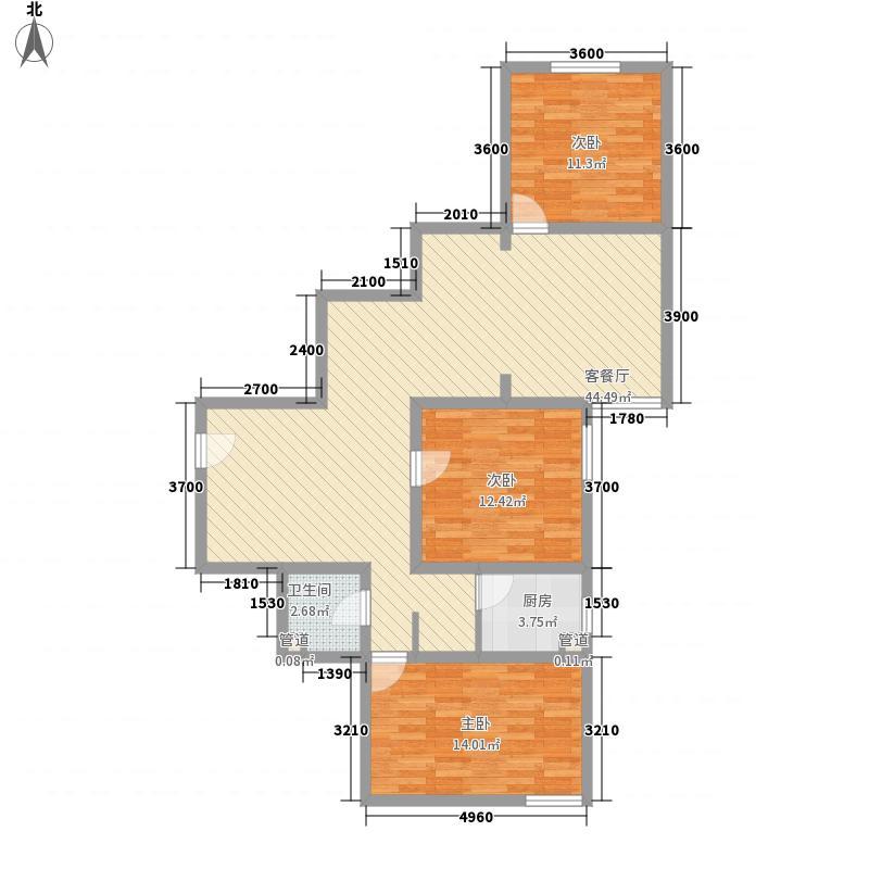 汇通丽城159.45㎡汇通丽城户型图D户型3室2厅1卫1厨户型3室2厅1卫1厨