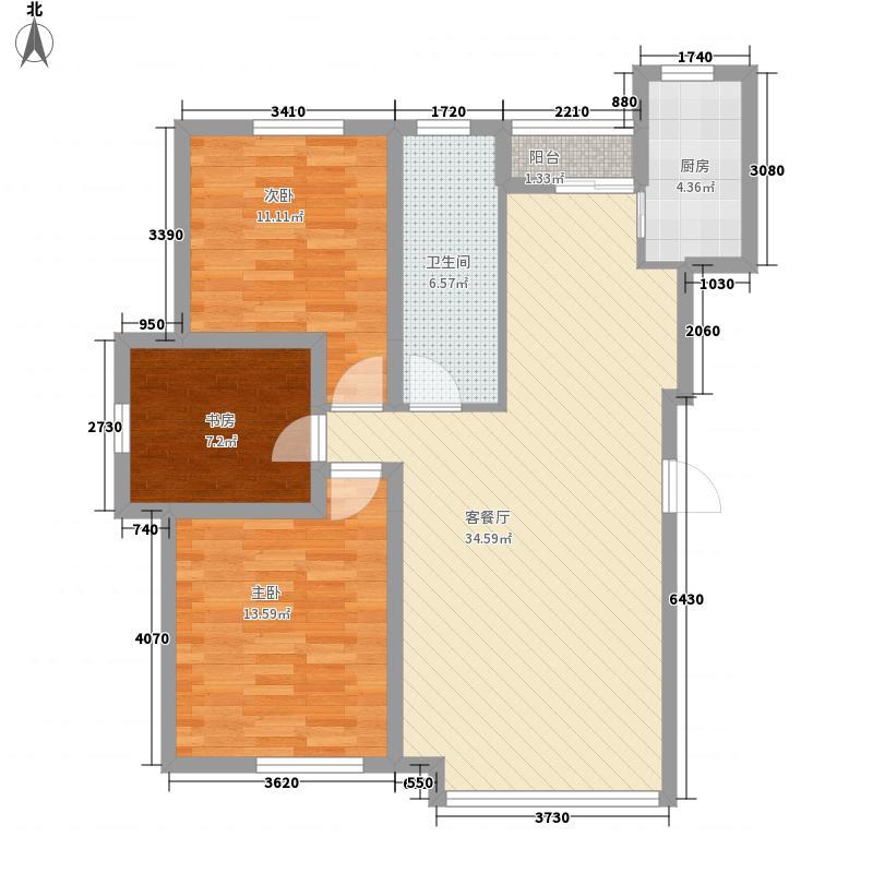 新华壹品112.44㎡新华壹品户型图三期户型3室2厅1卫户型3室2厅1卫
