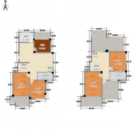 清水湾5室1厅2卫1厨191.00㎡户型图