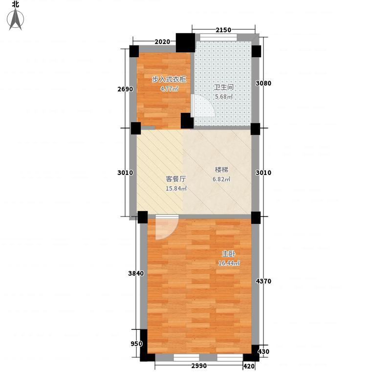 郡原相江公寓户型图186方D-A2二层 4室2厅2卫1厨