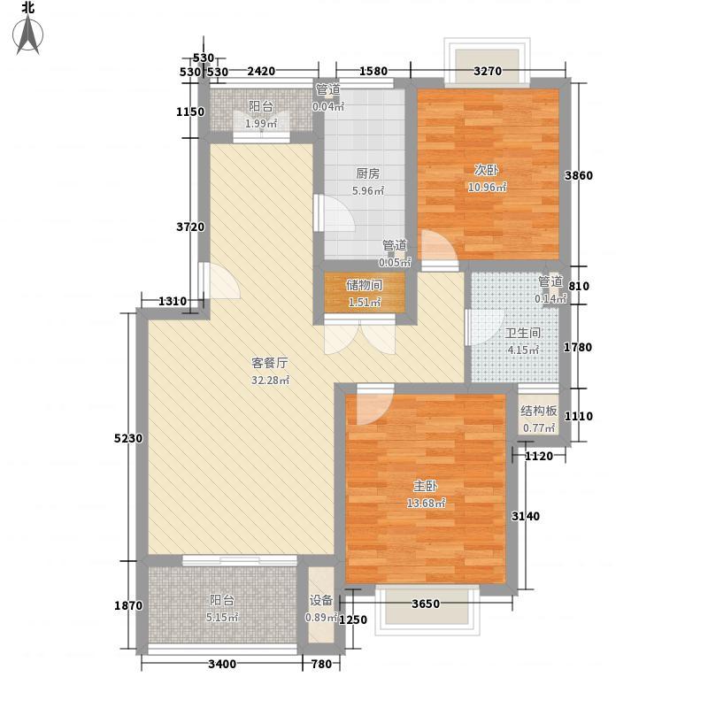 金山佳园114.00㎡金山佳园4室户型4室