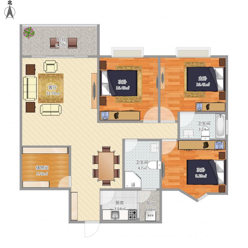 朝阳公寓C1