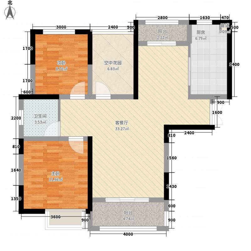 蓝鼎滨湖假日翰林园1278663389149_000户型2室1厅1卫1厨