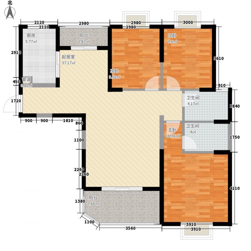 明发商业广场126.90㎡明发商业广场户型图7#楼B2户型(售完)3室2厅2卫1厨户型3室2厅2卫1厨