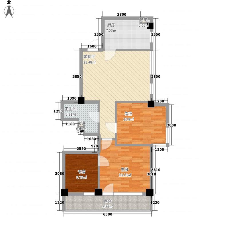 三隆碧桂园94.10㎡三隆碧桂园户型图3室2厅2卫户型10室