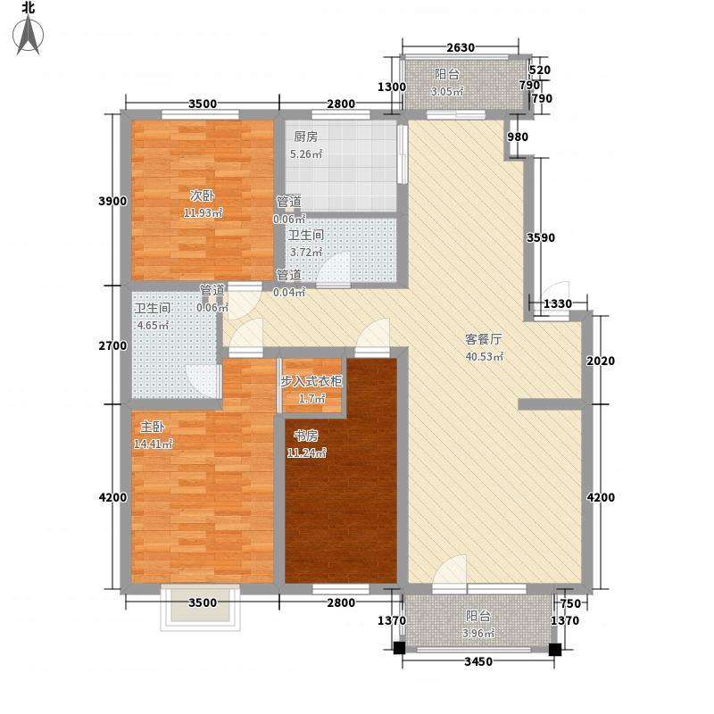 大华水岸福邸大华水岸福邸户型图3室2厅2卫户型10室