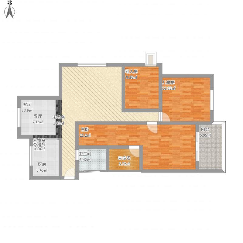 9栋81号三室两厅