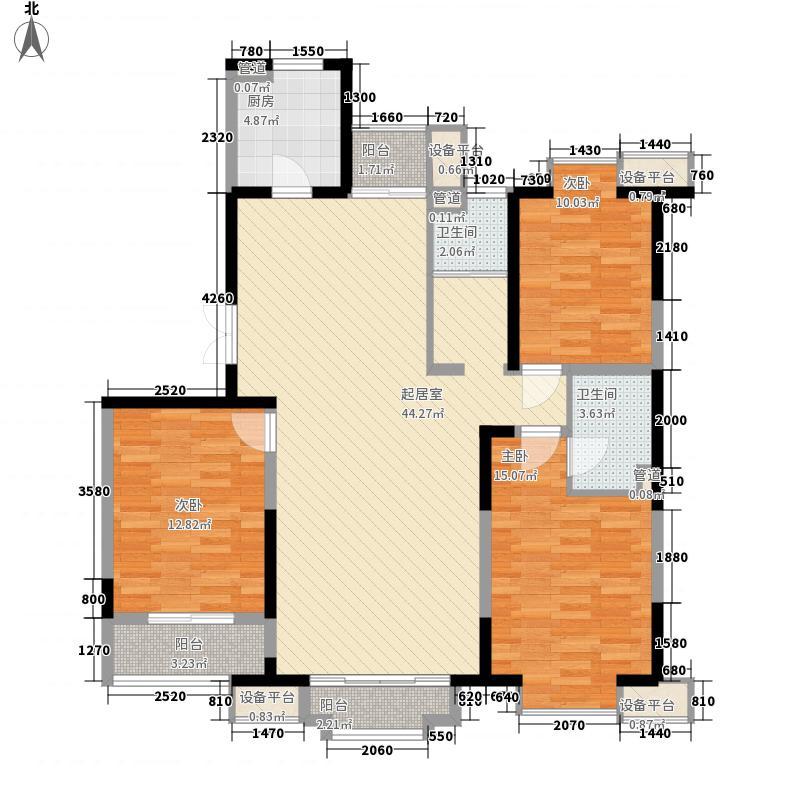 国富华庭国富华庭户型图3#A63室2厅2卫1厨户型3室2厅2卫1厨