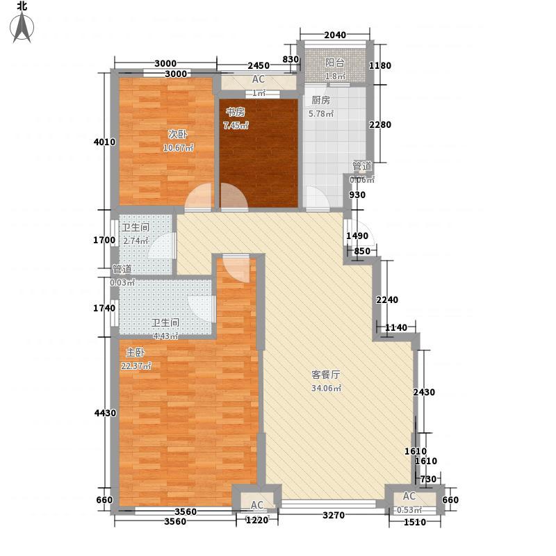 城建北尚112.10㎡城建北尚户型图G户型图3室2厅2卫户型3室2厅2卫