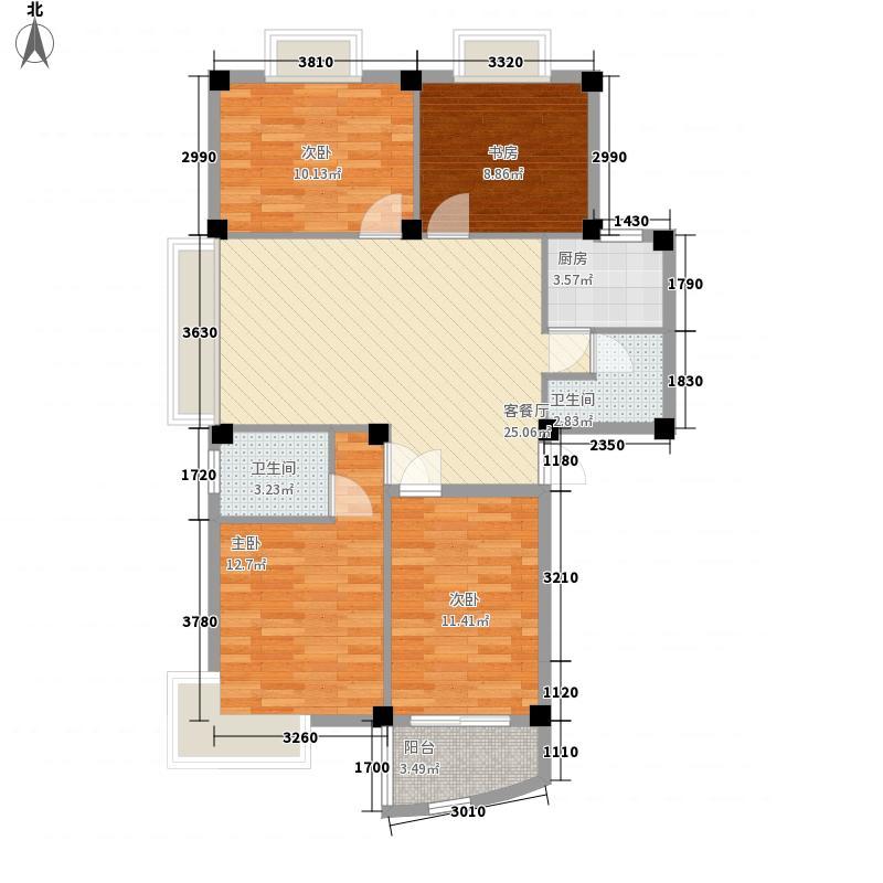 香江生态丽景114.00㎡香江生态丽景户型图户型d3室2厅2卫1厨户型3室2厅2卫1厨