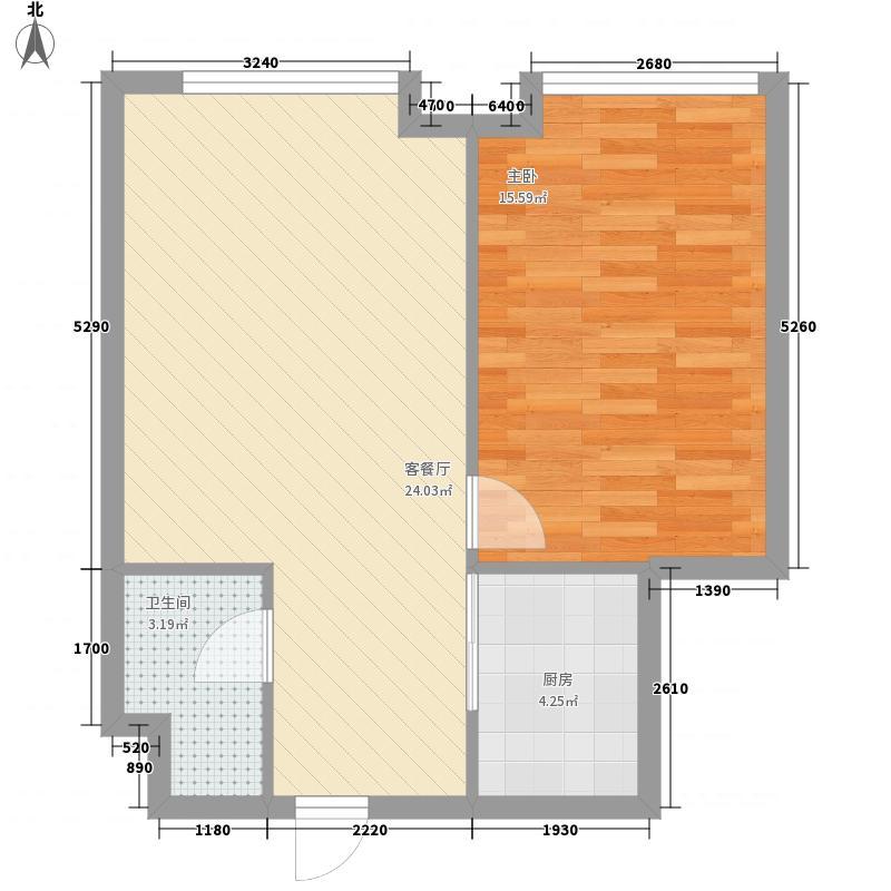 城市印象星空公寓2号楼C户型