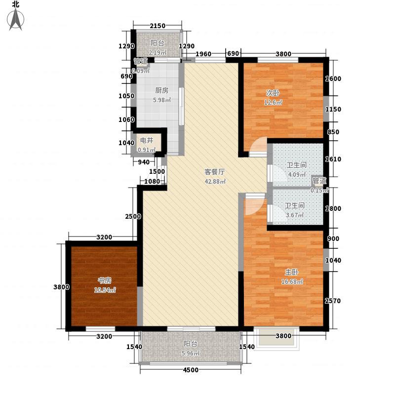 呼和佳地145.00㎡呼和佳地户型图三期云龙苑145㎡户型3室2厅2卫1厨户型3室2厅2卫1厨