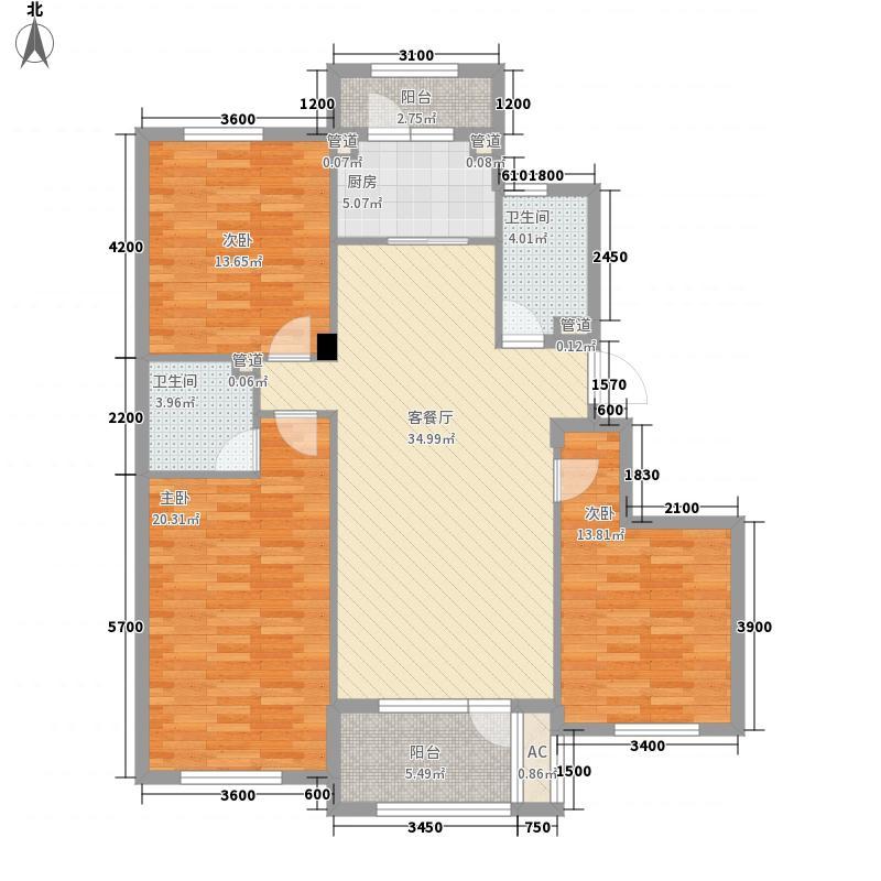 宏都峰景5、6、7、9号楼C3户型
