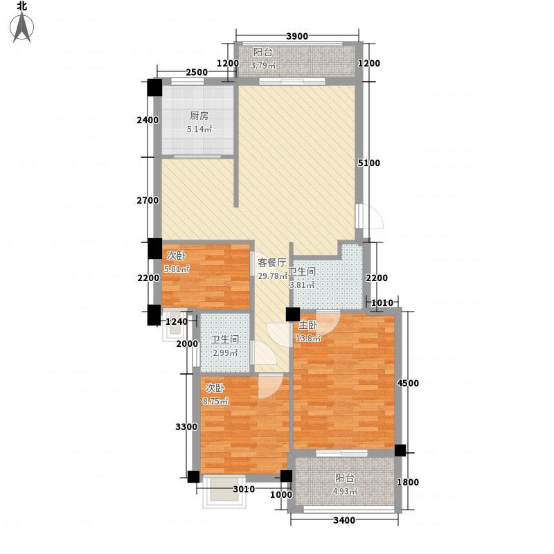 家天下三木城98.00㎡家天下三木城户型图A5户型(三期户型)3室2厅2卫户型3室2厅2卫