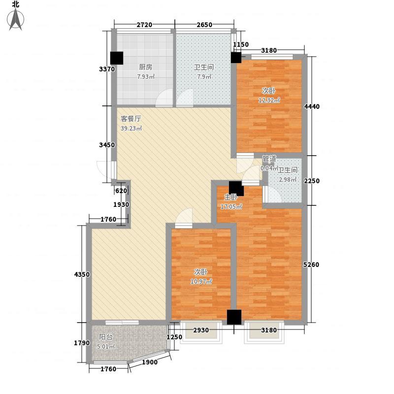 香樟雅苑148.00㎡户型4室