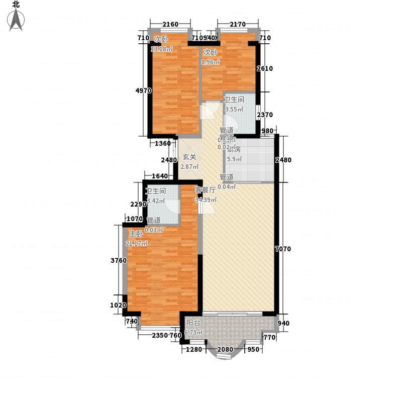 新天地鹭港139.28㎡新天地鹭港户型图2003C2-23室2厅2卫1厨户型3室2厅2卫1厨