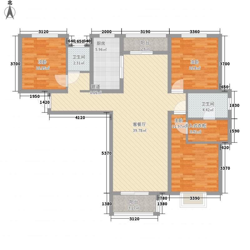 宝龙城市广场宝龙城市广场户型图滨河1号B-1户型户型10室