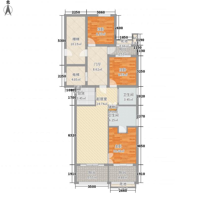 海阔天空海阔天空户型图D户型3室2厅2卫户型3室2厅2卫