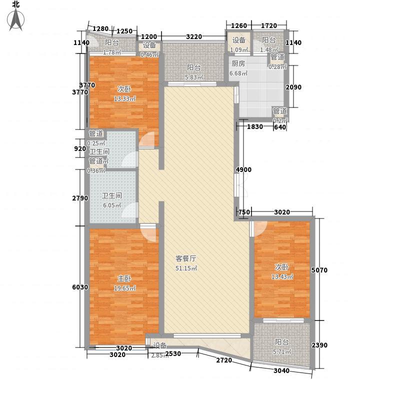 太阳星城175.94㎡6#C,C'10层(已售完)户型3室2厅2卫1厨