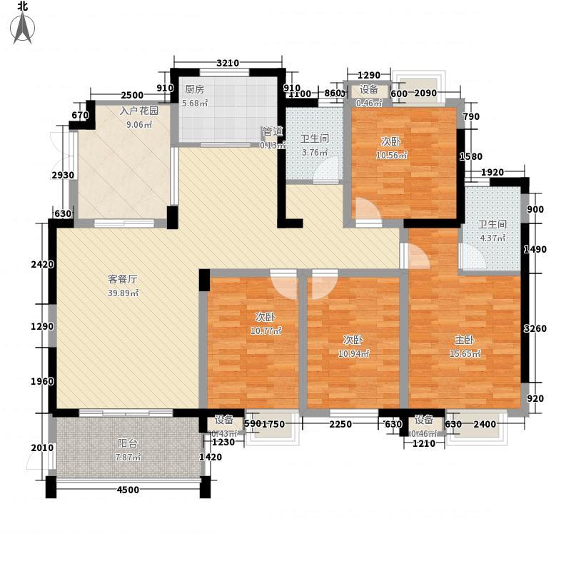 世纪城108.97㎡世纪城户型图龙耀苑V区20/22号楼3-22层A/B/C/D户型4室2厅2卫1厨户型4室2厅2卫1厨