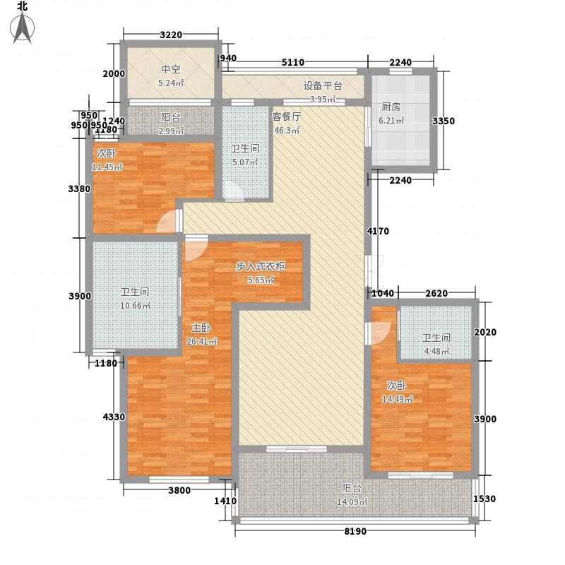 西溪山庄17.00㎡户型4室