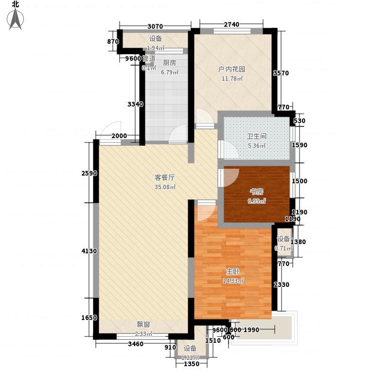 华润・橡树湾110.00㎡华润・橡树湾户型图高层D1户型2室2厅1卫户型2室2厅1卫