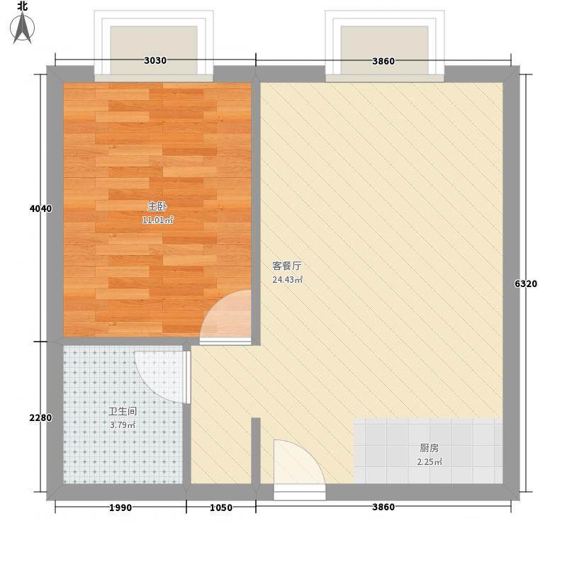 金鹿泊乐城54.41㎡金鹿泊乐城户型图户型图1室2厅1卫1厨户型1室2厅1卫1厨