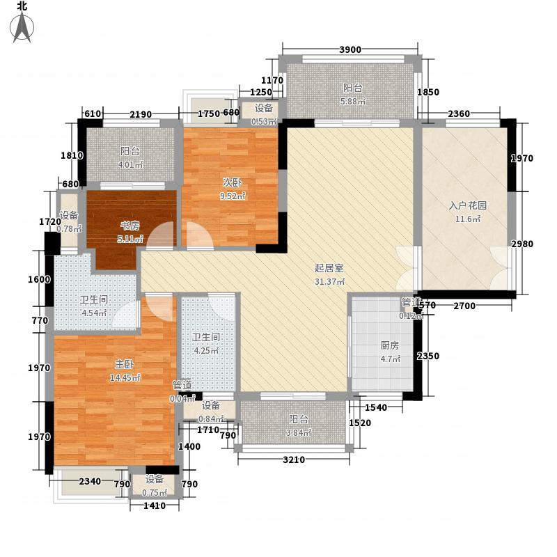 远洋启宸远洋启宸户型图11#户型图-01单位5-21层户型10室