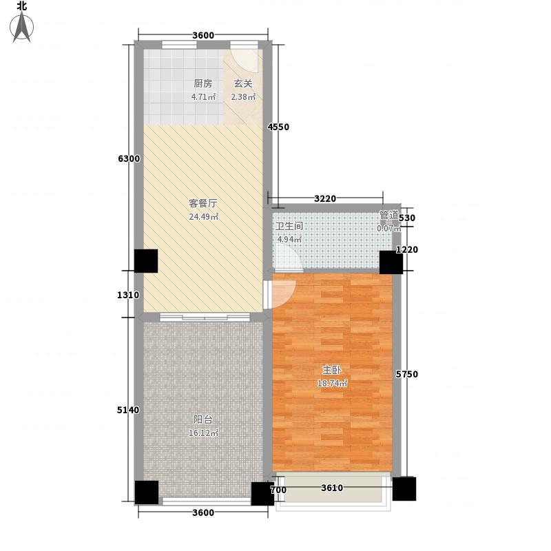 学府公寓户型