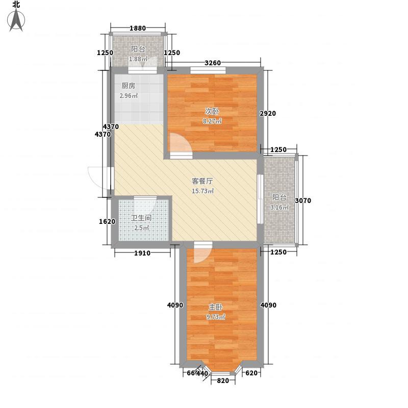 盛新领地盛新领地户型图两室一厅59.53平方米2室1厅1卫1厨户型2室1厅1卫1厨