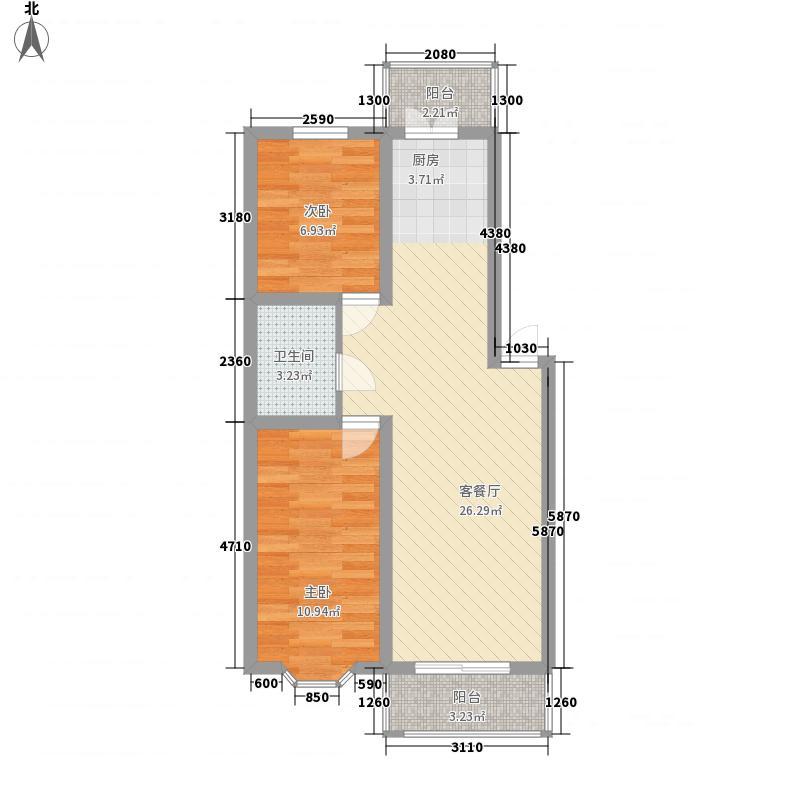 盛新领地盛新领地户型图两室一厅76.08平方米2室1厅1卫1厨户型2室1厅1卫1厨