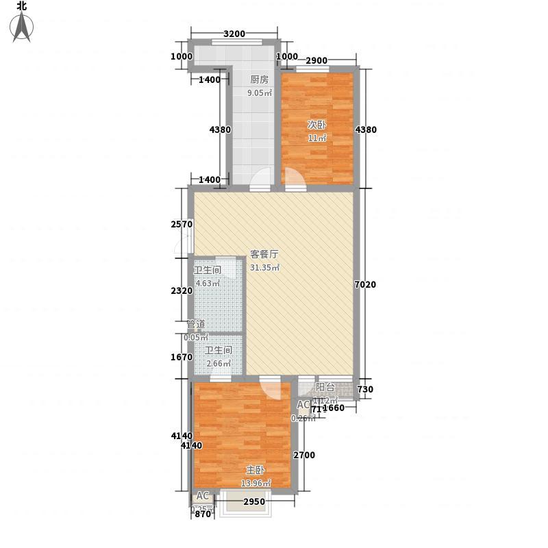 金仕顿公馆115.57㎡金仕顿公馆户型图户型图2室20厅1卫10厨户型2室1卫