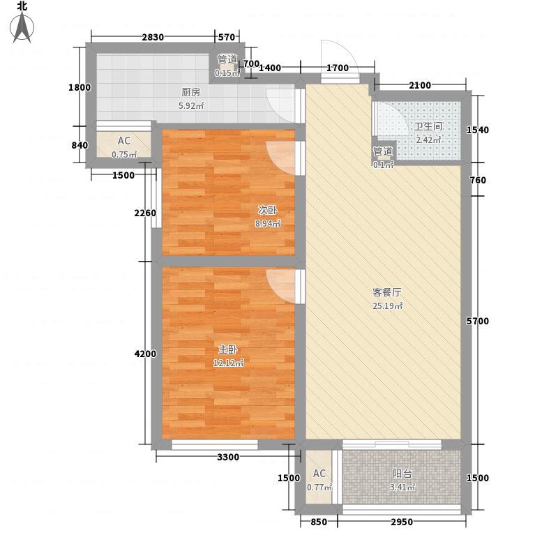 中国水电首郡中国水电首郡户型图A2户型户型10室