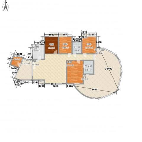湘江豪庭4室1厅2卫1厨269.00㎡户型图