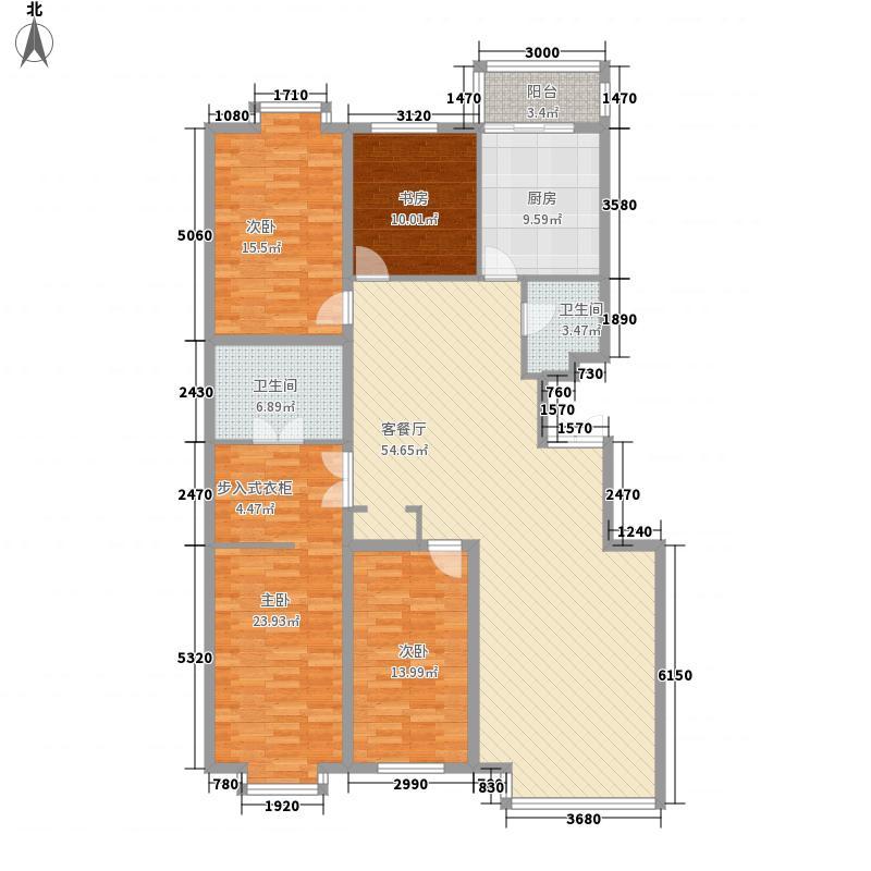 枫景名城185.96㎡枫景名城户型图4室2厅2卫户型10室