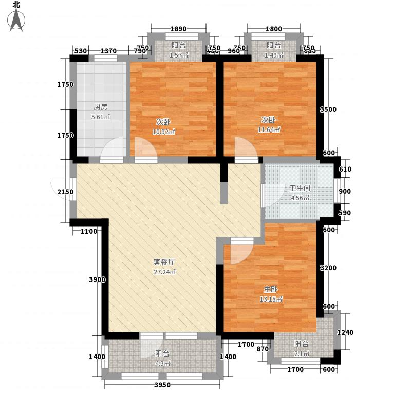 荣盛楠湖郦舍12#楼C户型