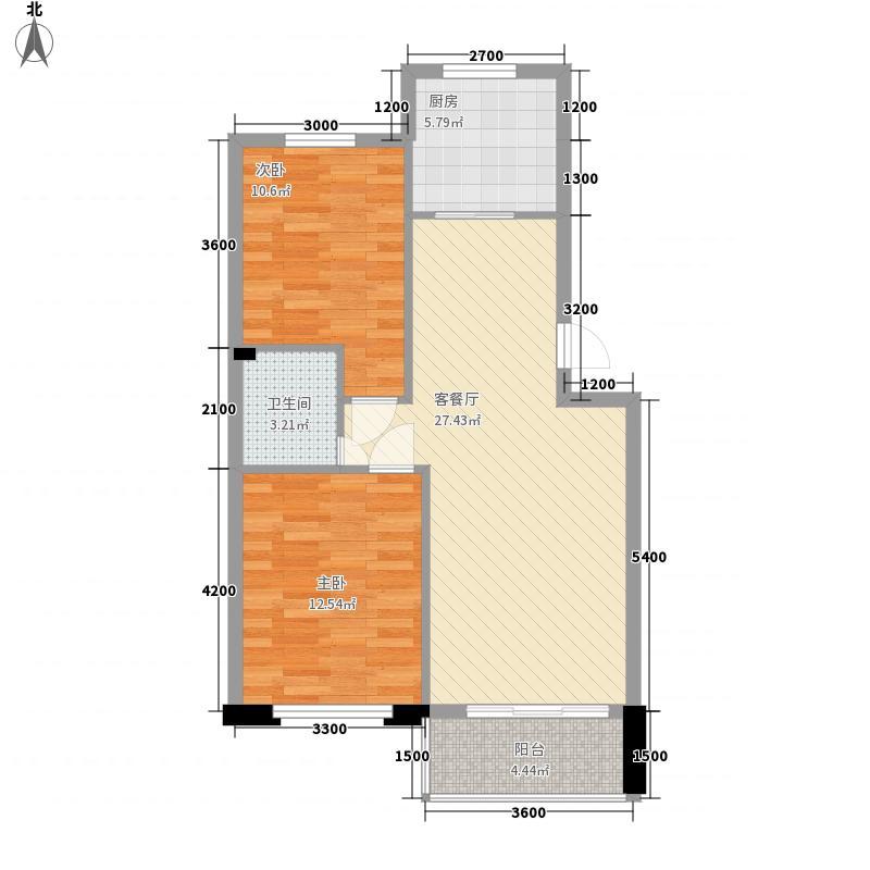 金湾新城四期金湾新城四期户型图2室户型图2室2厅1卫1厨户型2室2厅1卫1厨