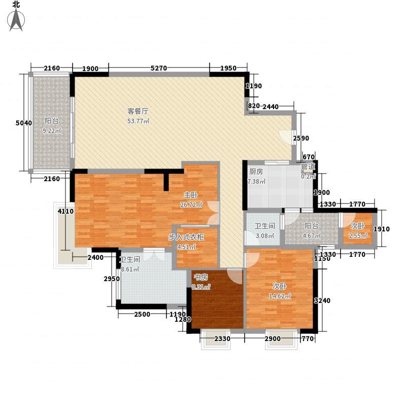 首地容御181.00㎡首地容御户型图03户型3室2厅2卫1厨户型3室2厅2卫1厨