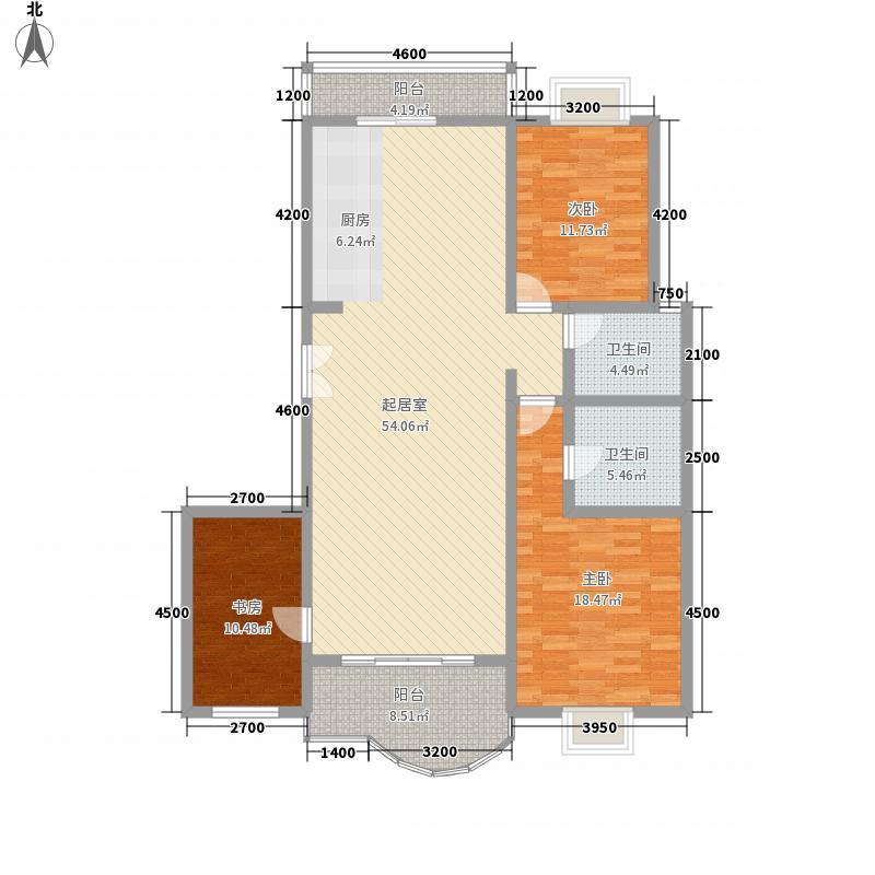 新兴国际文教城154.76㎡新兴国际文教城户型图户型B2室1厨户型2室1厨