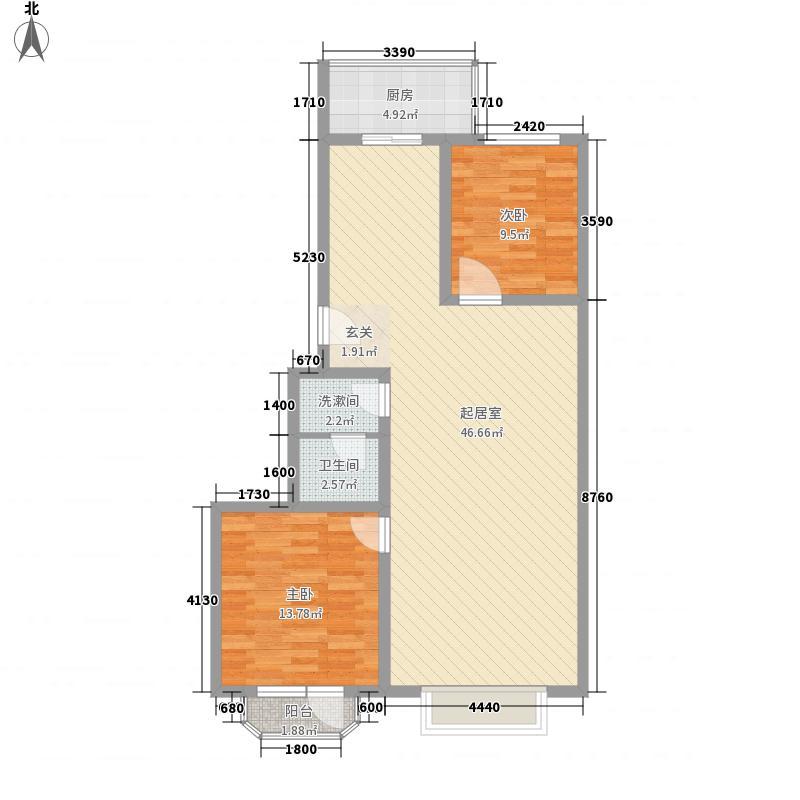 汇豪澜湾115.72㎡汇豪澜湾户型图户型图B3室2厅2卫户型3室2厅2卫