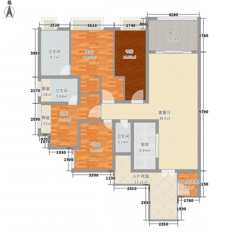 协信公馆一期2号楼A1-户型