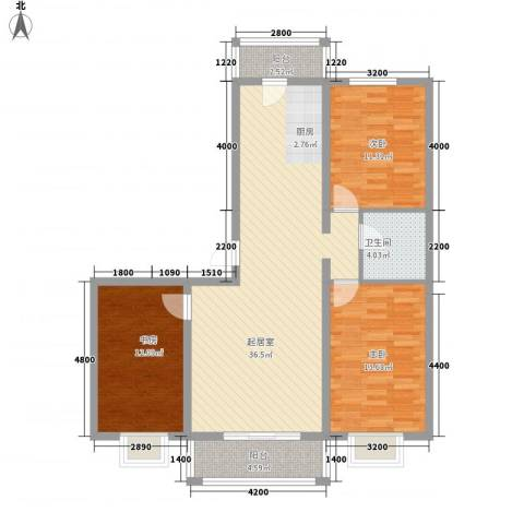 BOBO悠乐城3室0厅1卫0厨84.71㎡户型图