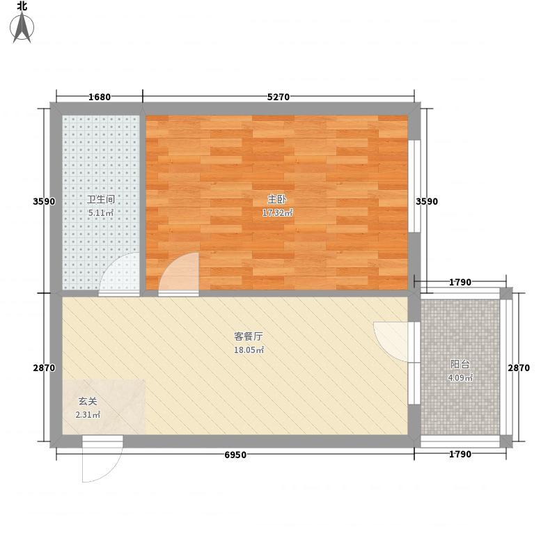 龙埠城市花园龙埠城市花园户型图户型图1室1厅1卫1厨户型1室1厅1卫1厨