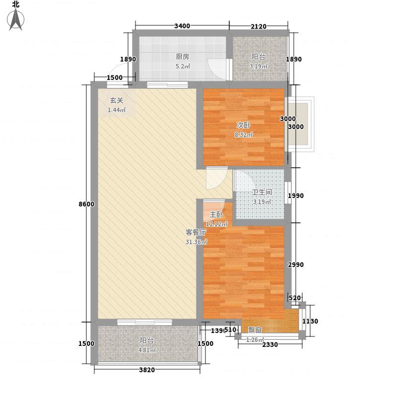 西溪里象牙湾1#楼A-2户型