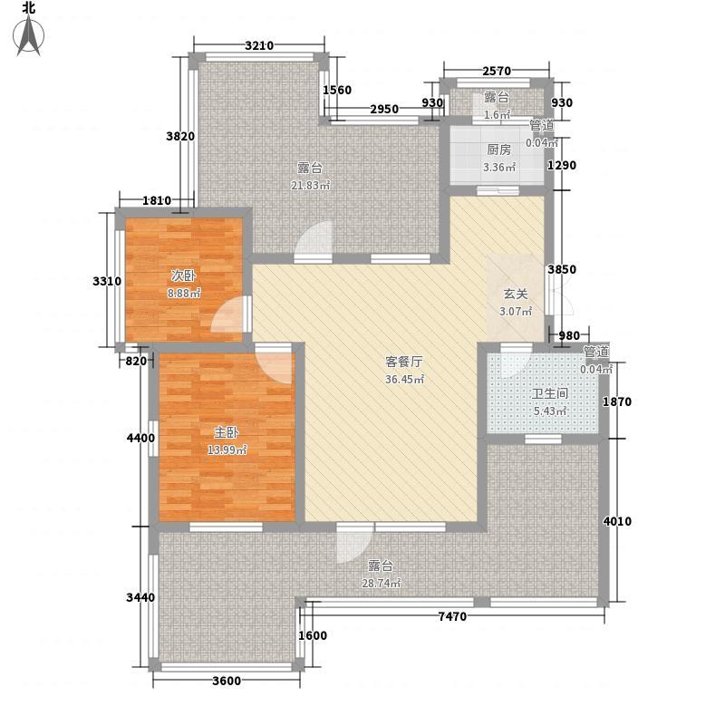 御龙仙语湾94.00㎡御龙山语湾B82室2厅1卫1厨94.00㎡户型2室2厅1卫1厨